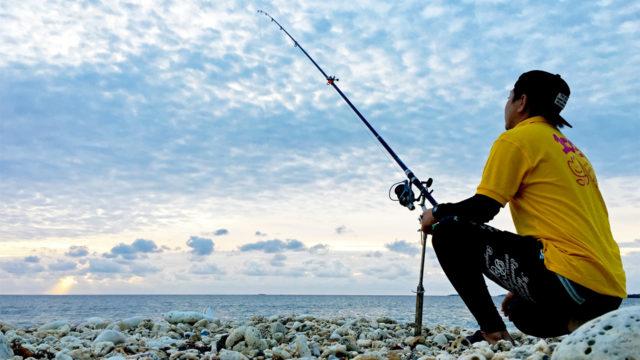離島の環境は釣り好きは最高!